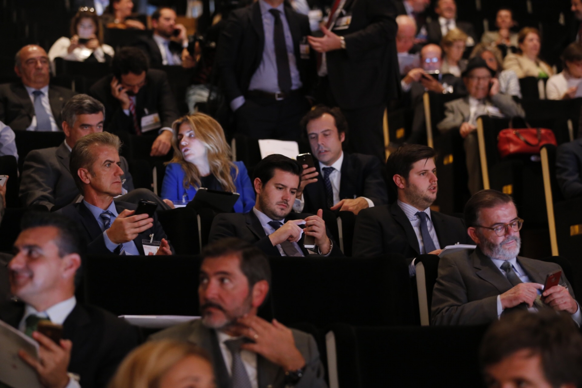 Asistentes al XVII Congreso de la Empresa Familiar