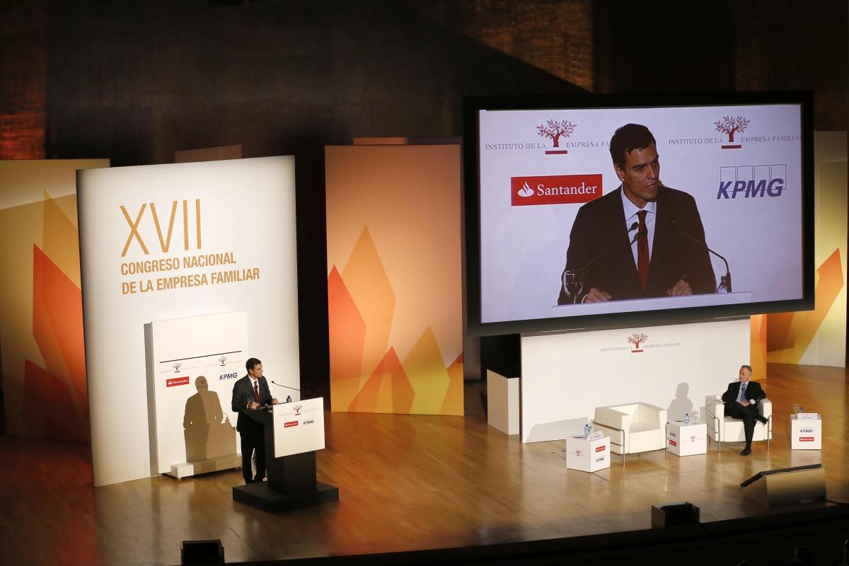 Conferencia Secretario General PSOE, Pedro Sánchez