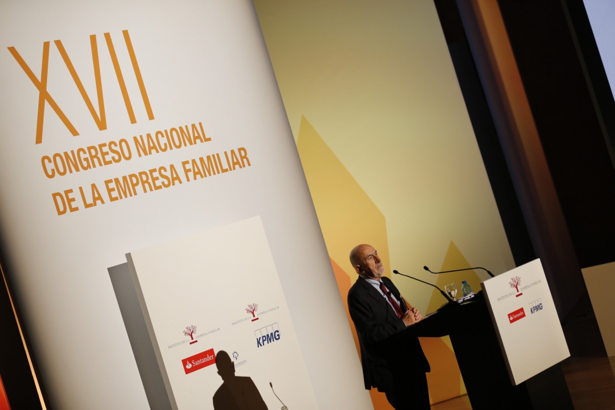 Conferencia Álvaro Cuervo Congreso de Empresa Familiar
