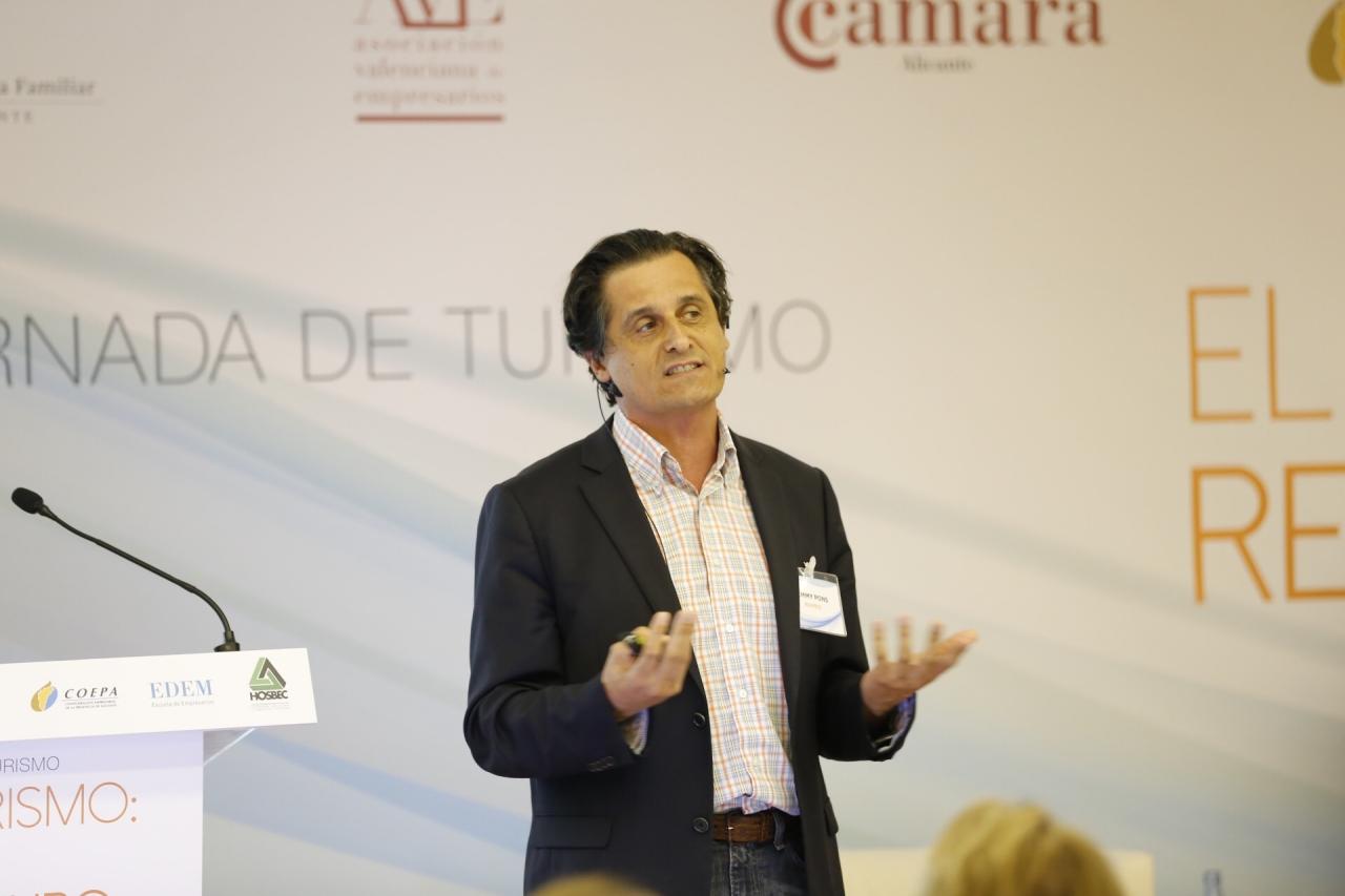II Jornada de Turismo en Benidorm-Jimmy Pons