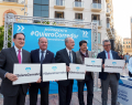 El Movimiento #QuieroCorredor realiza parada en Málaga para reivindicar el Corredor Ferroviario en el litoral de la Costa del Sol
