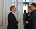 Almuerzo de trabajo con el presidente de Red Eléctrica España, José Folgado