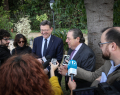 Almuerzo de trabajo con el President de Generalitat, Ximo Puig