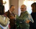 AVE examina en La Encina la marcha del Corredor Mediterráneo