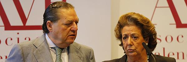 Vicente Boluda y Rita Barberá