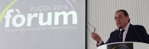 Vicente Boluda en el forum desarrollo Territorial puzol