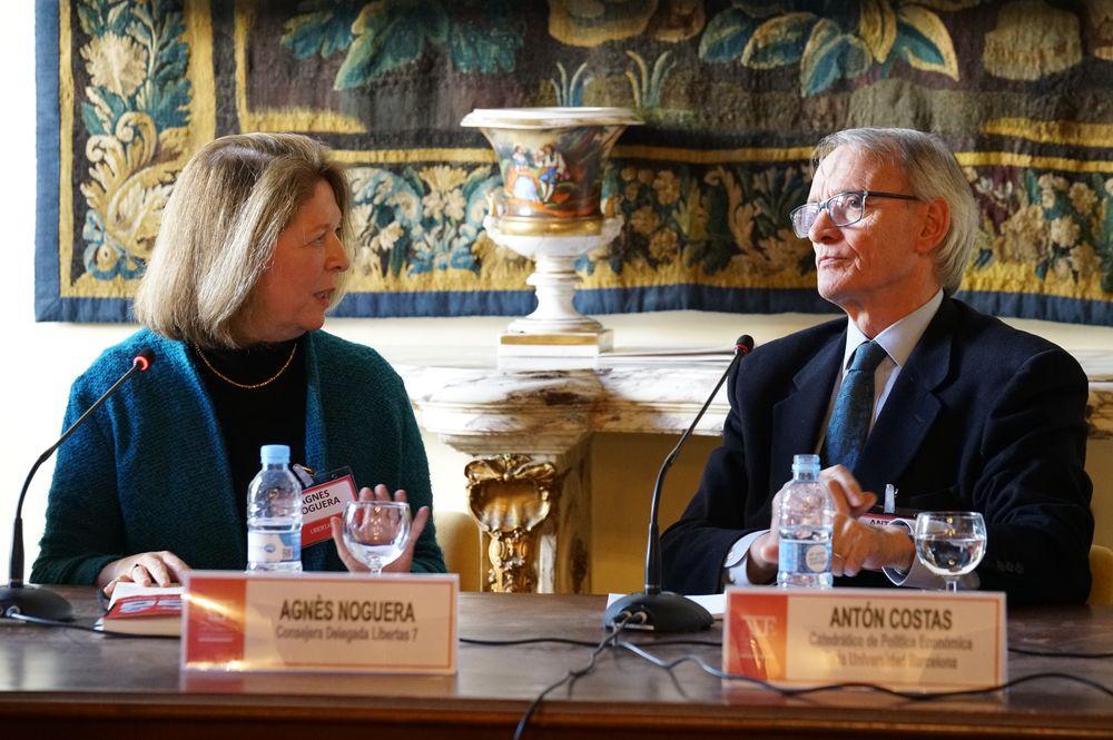 Antón Costas y Agnès Noguera